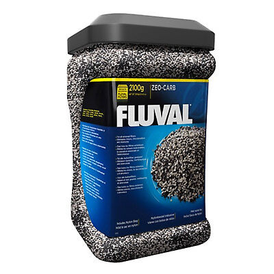 Fluval Zeo Carb 2100g Carbon Ammonia Remover Media Filter