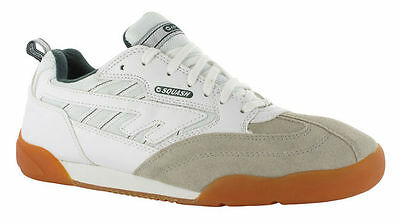 **NEW** Hi-Tec Mens Squash Classic White/Green Exercise Trainers Size 12 UK