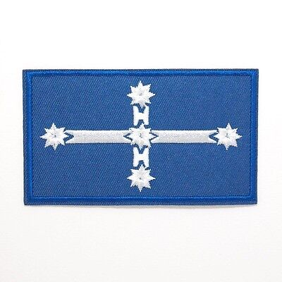 Eureka Flag Patch — Iron On Badge Embroidered Motif — Southern Cross Aussie #176
