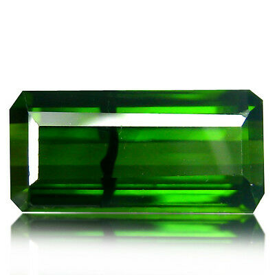 2.67Ct Natural Earth mined Octagon Shape Unheated Mozambique Green Tourmaline