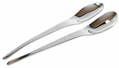 Benzer - Newport Salad Servers Stainless Steel