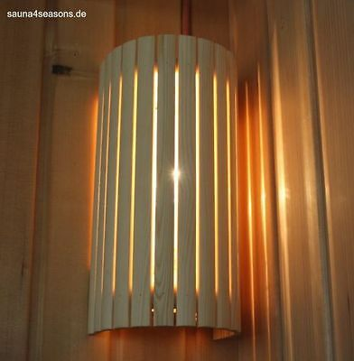 Sauna Lamp Sauna Lamp Sauna Light Sauna Lamp Set Wooden Lampshade Cable