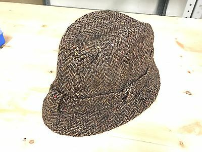 Vintage Donegal Tweed Made In Ireland Size 55cm Been Worn For Fishing