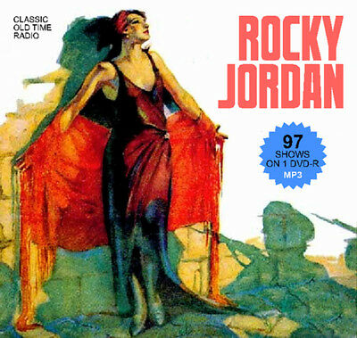 Rocky Jordan - 99 OTR Shows on DVD-R Old Time Radio MP3s