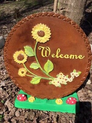 Concrete Mold ABS  Plastic Plaque or stepping Stone Holder