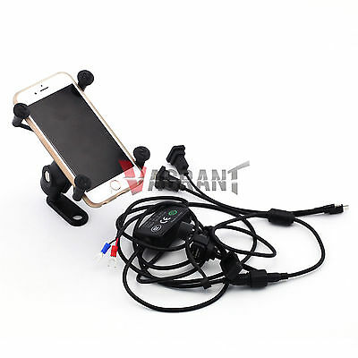 BMW F650GS F700GS F800GS F800GT F800R Navigation Frame USB Charge Port