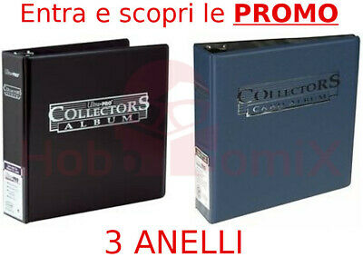 Raccoglitore ANELLI x pagine 9 Tasche Ultra Pro Collectors Carte ALBUM Magic