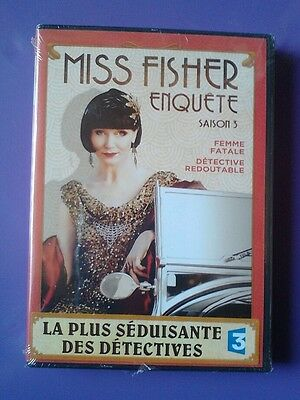 MISS FISHER ENQUETE  - SAISON 3 -   DVD    neuf sous blister