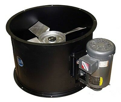 """Spray Booth Fan - 24"""" Tube Axial 6800 CFM - Made In The USA"""