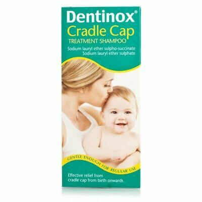 Dentinox Cradle Cap Treatment Shampoo From Birth 125ml 1 2 3 6 Pack