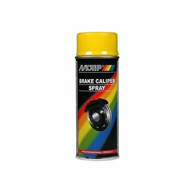Motip Brake Caliper Spray Paint Yellow 400ml