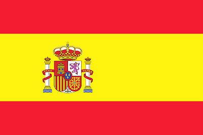 SPANISH NATIONAL FLAG OF SPAIN ESPANA 3 x 2 ft 90 X 60 CM GREAT VALUE NEW
