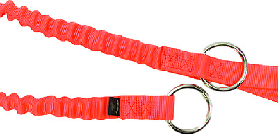Weaver Leather Arborist Lineman Bungee Chainsaw Strap W/ 2 Rings 08-98226