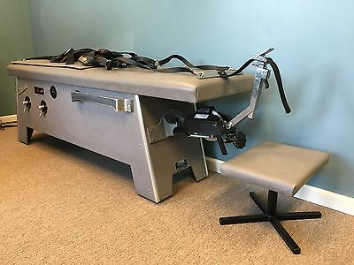 Hill Anatomotor Traction Table With Rollers And Heat, Clean Good Condition