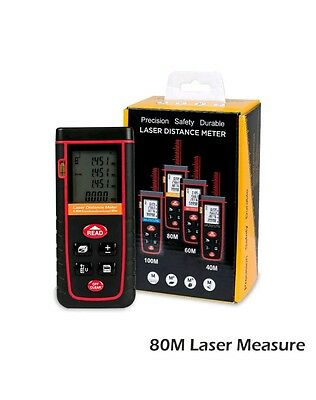 80m Digital Laser Distance Meter Shooting Golf Range Finder UK SELLER