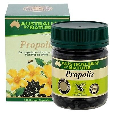 Australian by Nature Propolis 500mg 340 Capsules x 3