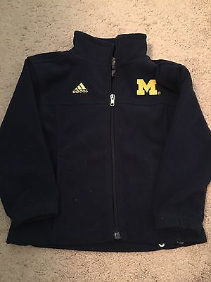 Adidas Michigan Wolverines 4T Fleece