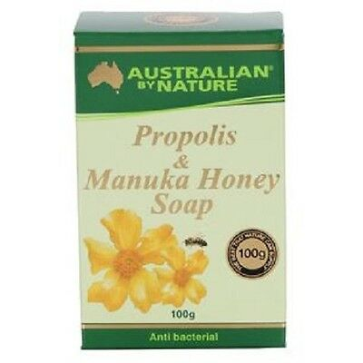 Australian by Nature Propolis and Honey Soap 100g x 3