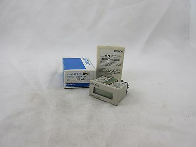*new* Omron H7Ec-Bvl Self- Powered Counter *60 Day Warranty*