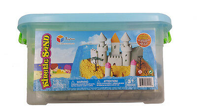 6 LBS Three Colors Kinetic Sand with Three molds