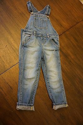 Baby Gap Girls Overalls Jeans  size 4 years