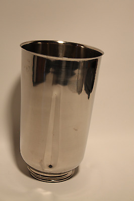 Vintage Hamilton Beach Stainless Steel Commercial  2 Qt Blender Jar Replacement