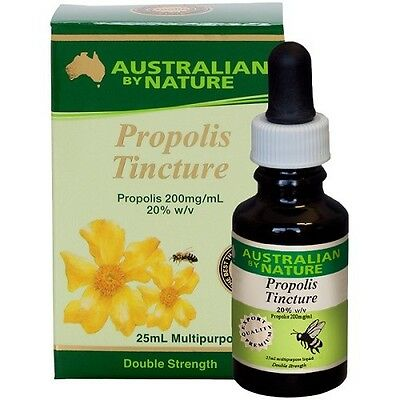 Australian by Nature Double Strength Propolis Tincture 25ml x 10
