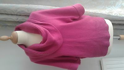 pink Angora mix jumper size 16 from George