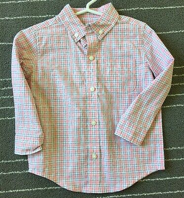 Janie and Jack Boy's Kid Baby Button Down Shirt Top 18-24 Months - NWT