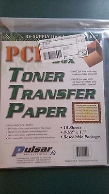 PCB FAB - IN A - BOX - Toner Transfer Paper - New