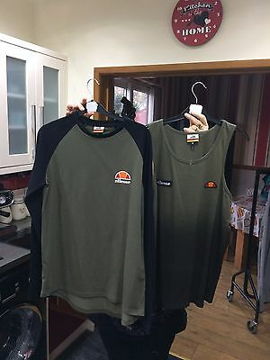 mens ellesse top bundle size medium sample
