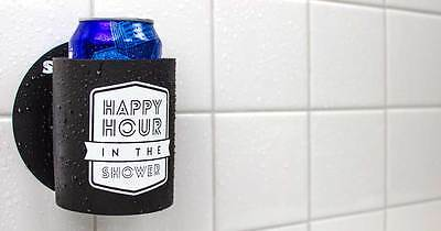 Shakoolie - Happy Hour in the Shower - Can Holder for Shower Beers (New)