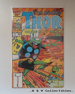 The Mighty Thor 366 by Marvel VF & CHECKED