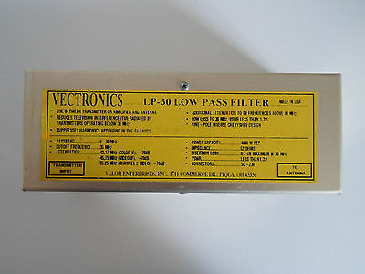Vectronics Lp-30 Low Pass Filter..........................radio_Trader_Ireland.