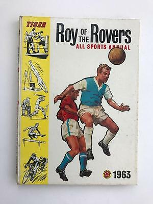 Tiger Roy of the Rovers Annual 1963 (good condition)