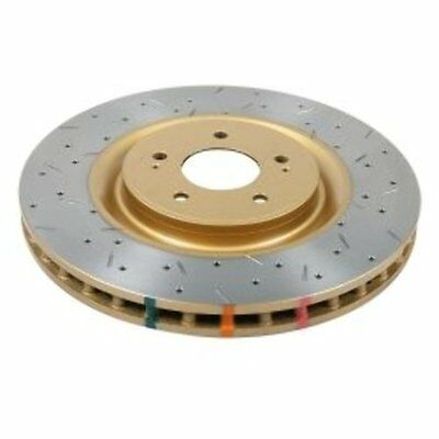 DBA (42224XS) 4000 Series Drilled and Slotted Disc Brake Rotor, Front