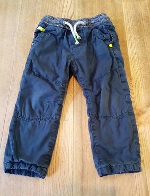 Next boys cargo trousers 12-18 months