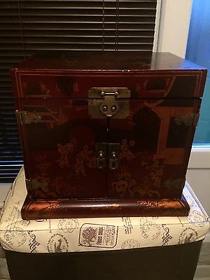 chinese jewellery box Over 20 Years Old Stunning Piece