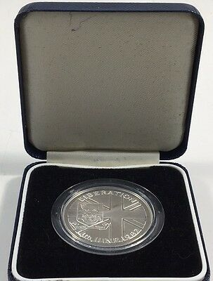 1982 Falkland Islands 50 Pence Silver Proof Coin