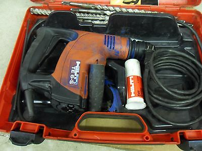 Hilti Te 6-S Rotary Corded Hammer Drill With Extras Used