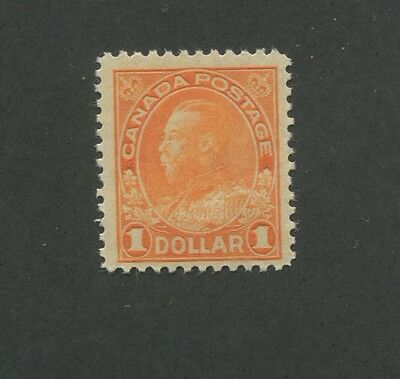 Canada 1925 King George V Admiral Issue Fine-Very Fine $1 Stamp #122 CV $220