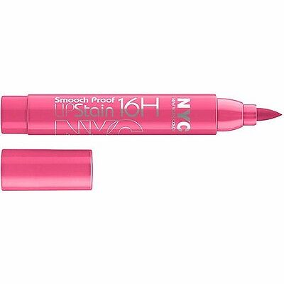 nyc smooch proof 16h lip stain 496 forever fuchsia new & sealed