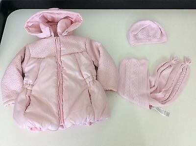 bf825931a TUTTO PICCOLO PINK Jacket Coat, Hat , Scarf, Age 4 Years Vgc Girls - EUR  26,07 | PicClick FR
