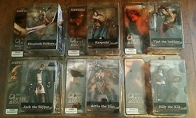 SPAWN McFarlane Toys Monsters 6 Faces of Madness 6 Figure Set New 2004 lot