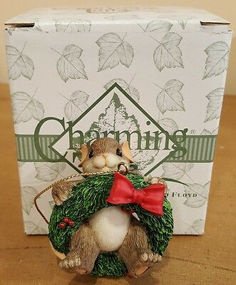 """Charming Tails """"Into the Swing of the Season"""" Ornament"""