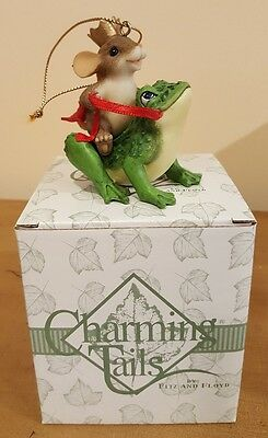 Charming Tails Rare Twelve Days of Christmas 10 Ten Lords a leaping