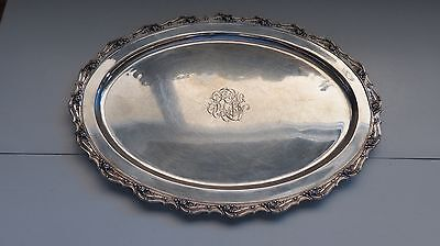Tiffany & Co Sterling Silver Oval Tray