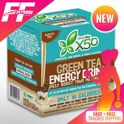 GREEN TEA X50 BARISTA PACK 30 Serve & 60 Serve Now In Stock - Limited Release