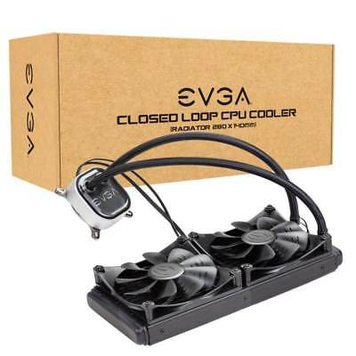 EVGA CLC 280 Liquid Cooler Water Cooling for CPU with RGB LED | 400-HY-CL28-V1