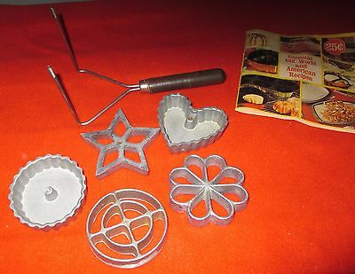 Nordic Ware Double Rosette & Timbale Iron for Instant Cookies & Patty Shells
